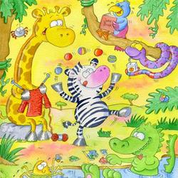 Cantos Infantiles - Una Aventura en el Zoologico de Dios