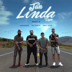 Mikey A - Tan Linda (Feat. Indiomar, Jay Kalyl, Omy Alka) [Remix] (Single)